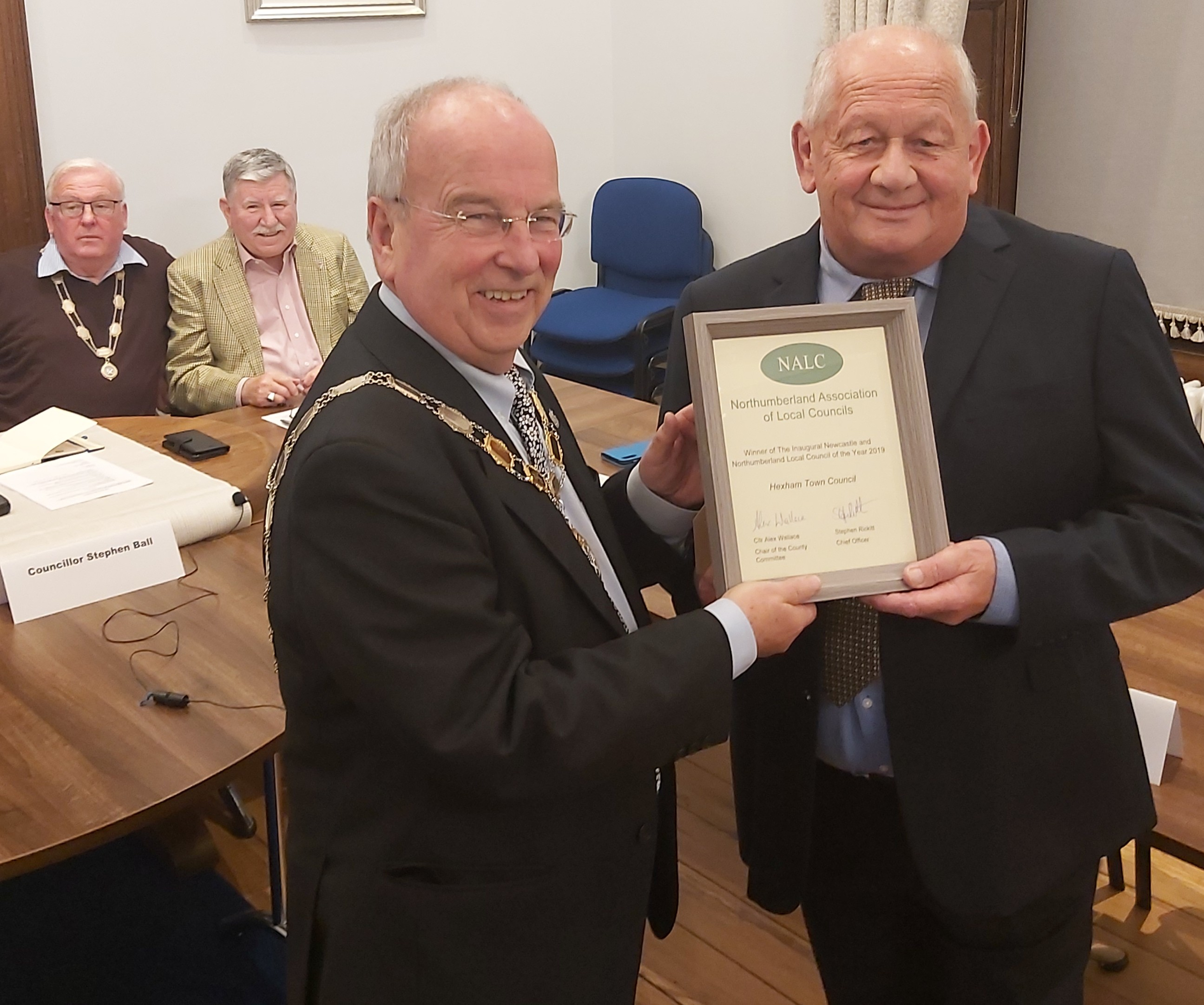 Council of the Year Award