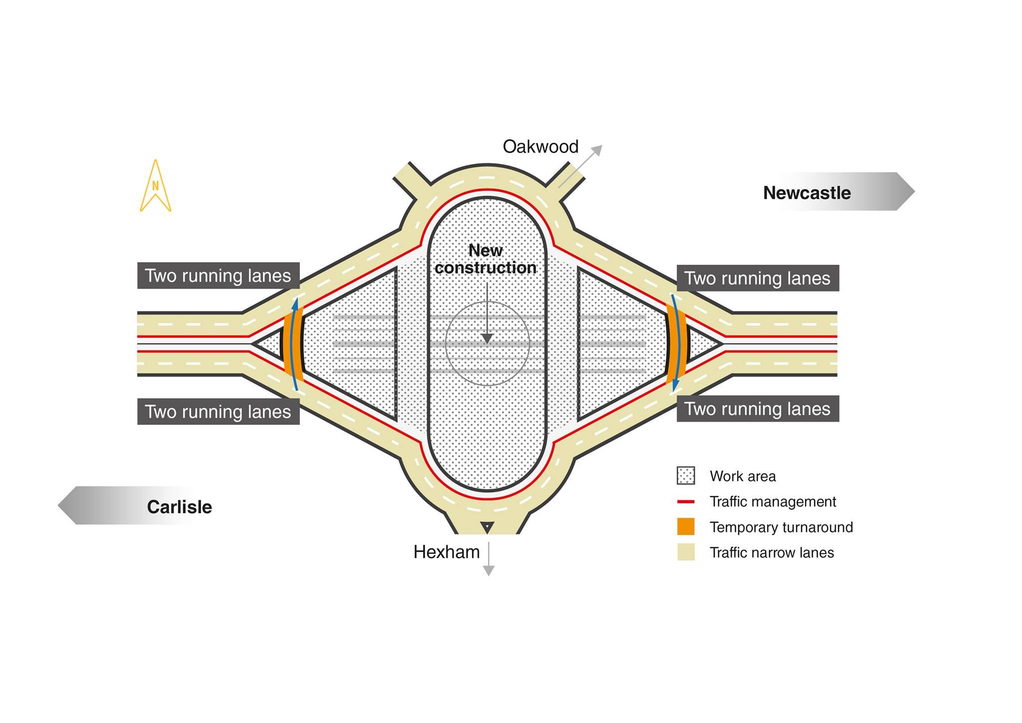 A69 Bridge End roundabout scheme update