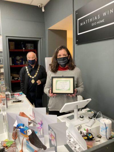 Inaugural Environmental Award Presented