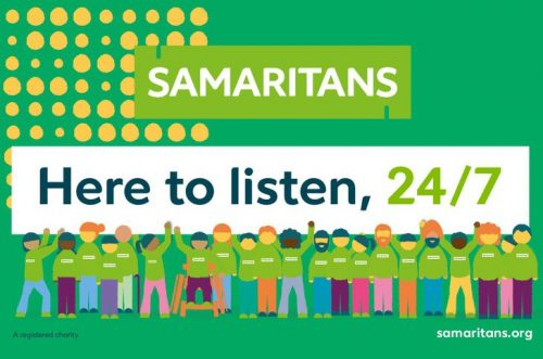 Samaritans: support for your mental health during the coronavirus pandemic
