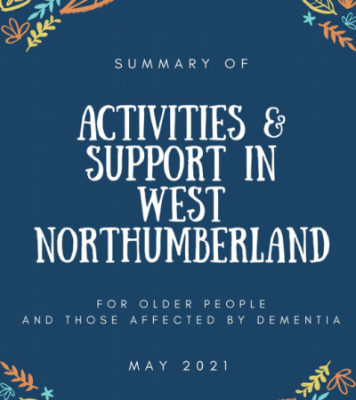Activities and Support for older people and those affected by dementia
