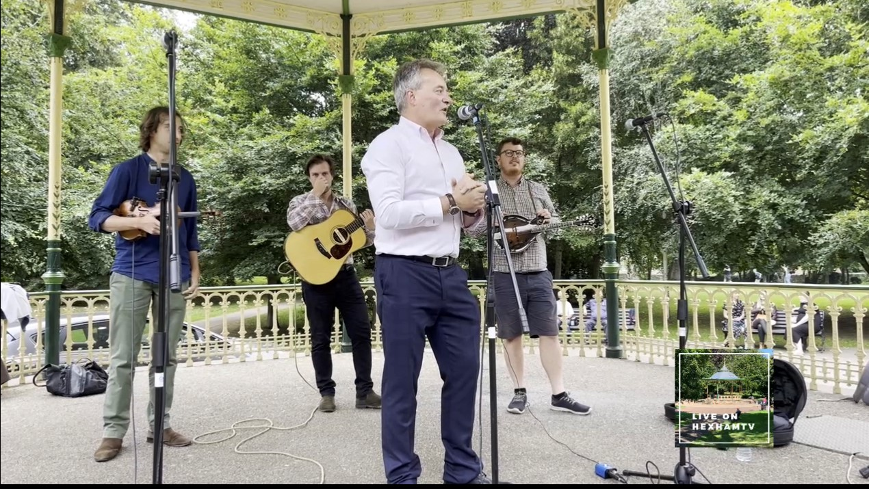 Bandstand Sessions hailed a success
